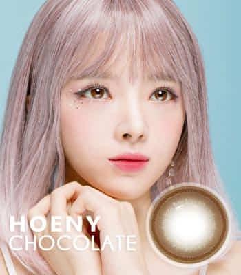 [ 乱視用カラコン2枚 ] Honey Chocolate 最高品質 [直径 : 14.0mm 着色:13.7mm] SUE ナチュラルチョコ