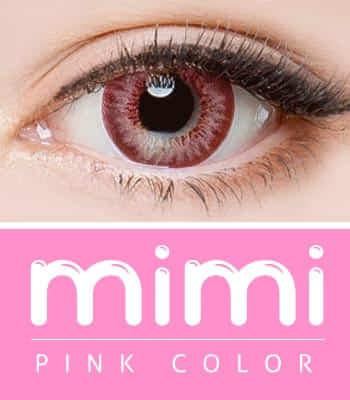 [デカ目の神]ミミピンク カラコンPREMIUM(着色直径:14.0mm)*プレミアム*バービー人形登場!可愛すぎに注意mimipink