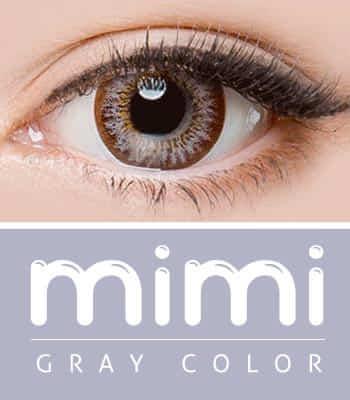 [ 乱視用カラコン2枚 ] [デカ目の神]ミミグレー(着色直径:14.0mm)*プレミアム*猫みたい!mimi gray
