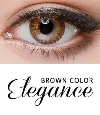 [王女の瞳3ヶ月レンズ]エレガンス・ブラウン カラコン[着色直径:12.8mm】UVカット*ラブリー発色Elegance Brown
