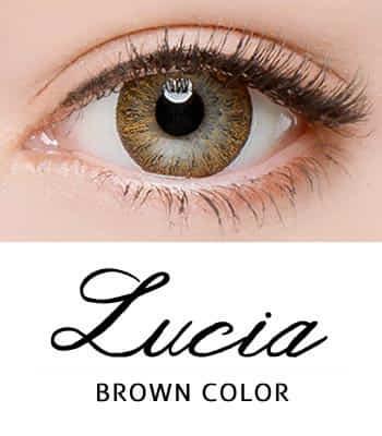 「限定販売」 乱視用カラコン2枚 [あざと可愛い]ルチアブラウン[着色直径:13.4mm]さりげないレンズ*落ち着いた目元Lucia Brown