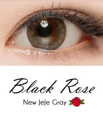 限定販売★ 乱視用カラコン2枚Black Rose ジェジェ・グレーPREMIUM[直径 : 14.0mm 着色:13.2mm] JEJE Gray