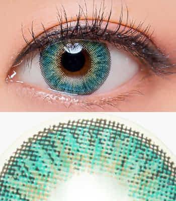 度なし「在庫が少ない」カラコンLove,Ardorアクアブルー [UVカット]デカ目 派手 ハーフ系 /最高品質 [直径 : 14.5mm 着色:14.0mm]度あり度なしAqua Blue