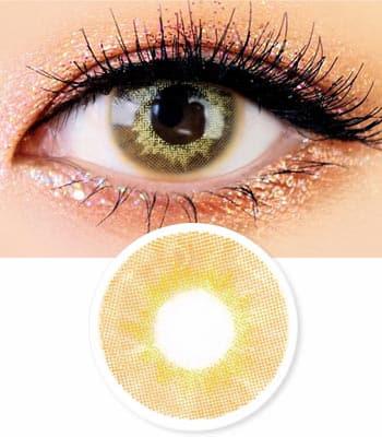 [1+1] [1ヶ月レンズ] Mistic 最高品質 [770円+770円]ブラウンカラコン[直径 : 14.0mm 着色:13.0mm] [計2箱]COLOR選択可能 (度あり度なし~-8.00まで) Brown