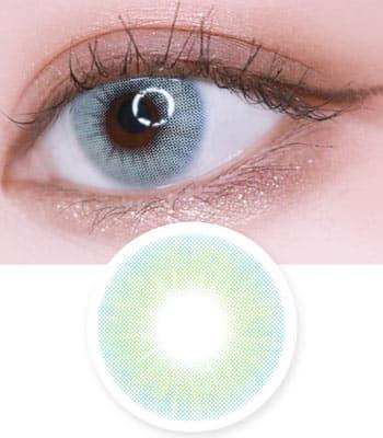 度なし2枚・クレイジー発色【Fancy Topaz Aqua Blue ファンシー・トパーズアクアブルー】ナチュラルハーフカラコン「最高品質」高発色コスプレ 含水率:40% PREMIUM contact lens