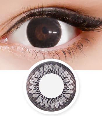 バニラ スイート・ブラックカラコンBnila sweet black「最高品質」高度数 含水率:42% 着色直径:13.4 度あり度なし~-8.00まで
